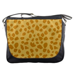 Autumn Animal Print 2 Messenger Bags by tarastyle