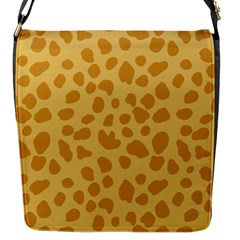 Autumn Animal Print 2 Flap Messenger Bag (s) by tarastyle