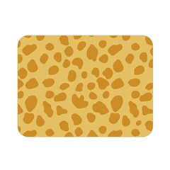 Autumn Animal Print 2 Double Sided Flano Blanket (mini)  by tarastyle