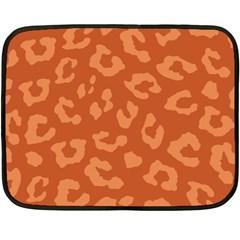 Autumn Animal Print 3 Fleece Blanket (mini) by tarastyle
