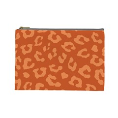 Autumn Animal Print 3 Cosmetic Bag (large)  by tarastyle