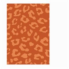 Autumn Animal Print 3 Large Garden Flag (two Sides) by tarastyle