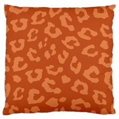 Autumn Animal Print 3 Large Cushion Case (one Side) by tarastyle