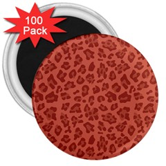 Autumn Animal Print 4 3  Magnets (100 Pack) by tarastyle