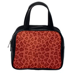 Autumn Animal Print 4 Classic Handbags (one Side) by tarastyle