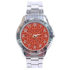 Autumn Animal Print 4 Stainless Steel Analogue Watch by tarastyle