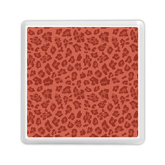 Autumn Animal Print 4 Memory Card Reader (square)  by tarastyle