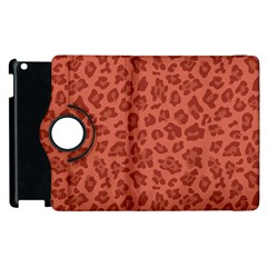Autumn Animal Print 4 Apple Ipad 3/4 Flip 360 Case by tarastyle