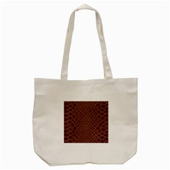 Autumn Animal Print 5 Tote Bag (cream) by tarastyle