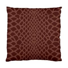Autumn Animal Print 5 Standard Cushion Case (two Sides) by tarastyle