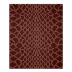 Autumn Animal Print 5 Shower Curtain 60  X 72  (medium)  by tarastyle