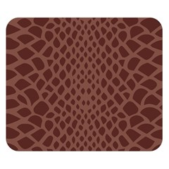 Autumn Animal Print 5 Double Sided Flano Blanket (small)  by tarastyle