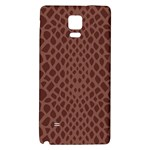 Autumn Animal Print 5 Galaxy Note 4 Back Case Front