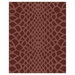 Autumn Animal Print 5 Drawstring Bag (small) by tarastyle