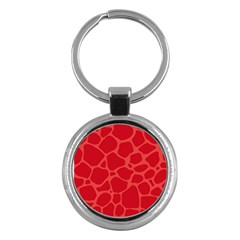 Autumn Animal Print 6 Key Chains (round)  by tarastyle