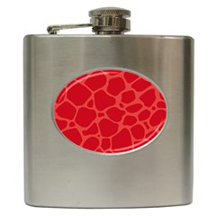 Autumn Animal Print 6 Hip Flask (6 Oz) by tarastyle
