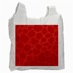 Autumn Animal Print 6 Recycle Bag (two Side)  by tarastyle