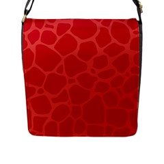 Autumn Animal Print 6 Flap Messenger Bag (l)  by tarastyle