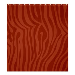 Autumn Animal Print 8 Shower Curtain 66  X 72  (large)  by tarastyle