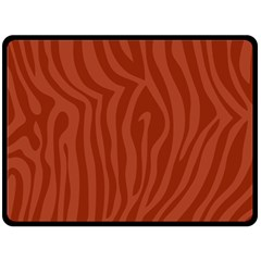 Autumn Animal Print 8 Fleece Blanket (large)  by tarastyle