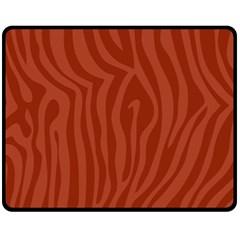 Autumn Animal Print 8 Fleece Blanket (medium)  by tarastyle