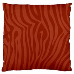 Autumn Animal Print 8 Large Cushion Case (one Side) by tarastyle