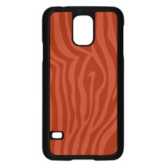 Autumn Animal Print 8 Samsung Galaxy S5 Case (black) by tarastyle