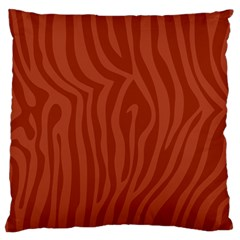 Autumn Animal Print 8 Standard Flano Cushion Case (one Side) by tarastyle