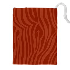 Autumn Animal Print 8 Drawstring Pouches (xxl) by tarastyle