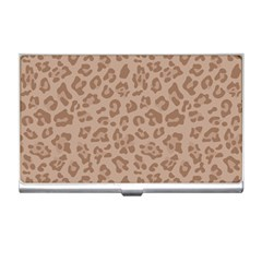 Autumn Animal Print 9 Business Card Holders by tarastyle