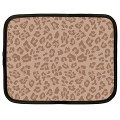 Autumn Animal Print 9 Netbook Case (large) by tarastyle