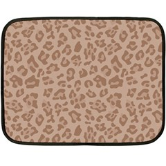 Autumn Animal Print 9 Fleece Blanket (mini) by tarastyle