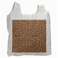 Autumn Animal Print 9 Recycle Bag (two Side)  by tarastyle
