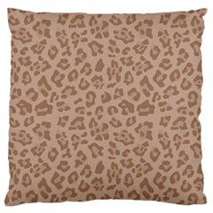 Autumn Animal Print 9 Standard Flano Cushion Case (two Sides) by tarastyle