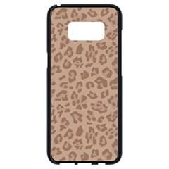 Autumn Animal Print 9 Samsung Galaxy S8 Black Seamless Case by tarastyle