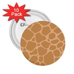 Autumn Animal Print 10 2.25  Buttons (10 pack)