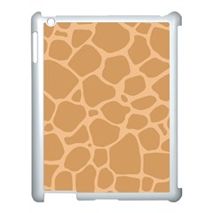 Autumn Animal Print 10 Apple Ipad 3/4 Case (white) by tarastyle