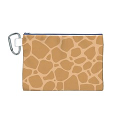 Autumn Animal Print 10 Canvas Cosmetic Bag (m) by tarastyle