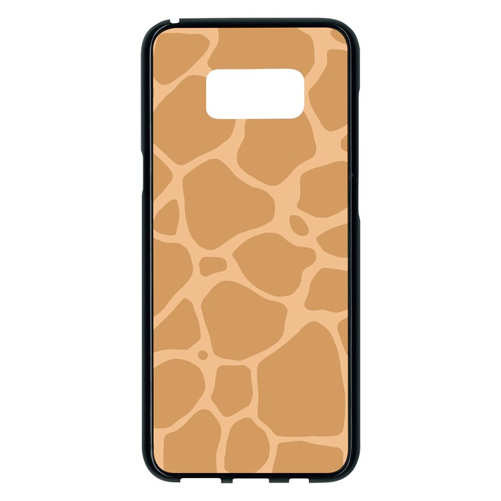 Autumn Animal Print 10 Samsung Galaxy S8 Plus Black Seamless Case