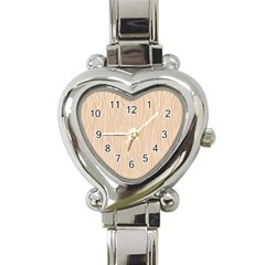 Autumn Animal Print 11 Heart Italian Charm Watch