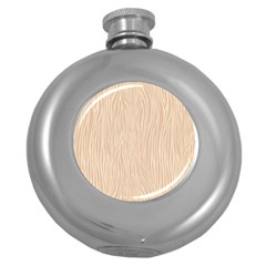 Autumn Animal Print 11 Round Hip Flask (5 Oz)