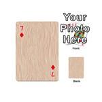Autumn Animal Print 11 Playing Cards 54 (Mini)  Front - Diamond7