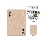 Autumn Animal Print 11 Playing Cards 54 (Mini)  Front - Spade10