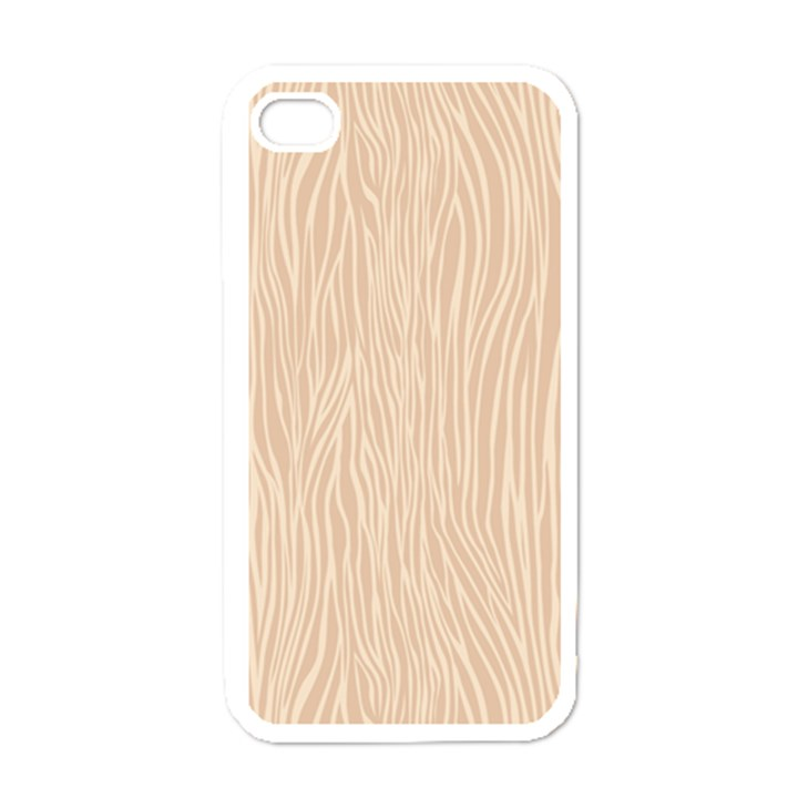 Autumn Animal Print 11 Apple iPhone 4 Case (White)