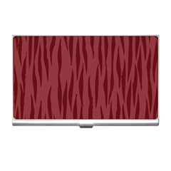 Autumn Animal Print 12 Business Card Holders by tarastyle