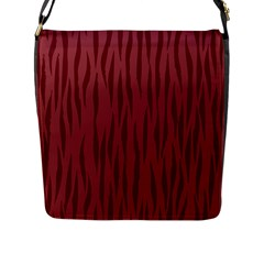 Autumn Animal Print 12 Flap Messenger Bag (l)  by tarastyle