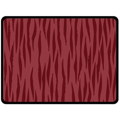 Autumn Animal Print 12 Double Sided Fleece Blanket (large)  by tarastyle