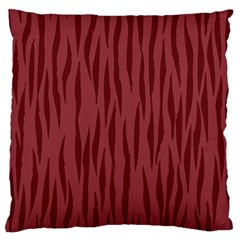 Autumn Animal Print 12 Standard Flano Cushion Case (one Side) by tarastyle