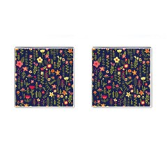 Cute Doodle Flowers 1 Cufflinks (square) by tarastyle