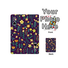 Cute Doodle Flowers 2 Playing Cards 54 (mini)  by tarastyle